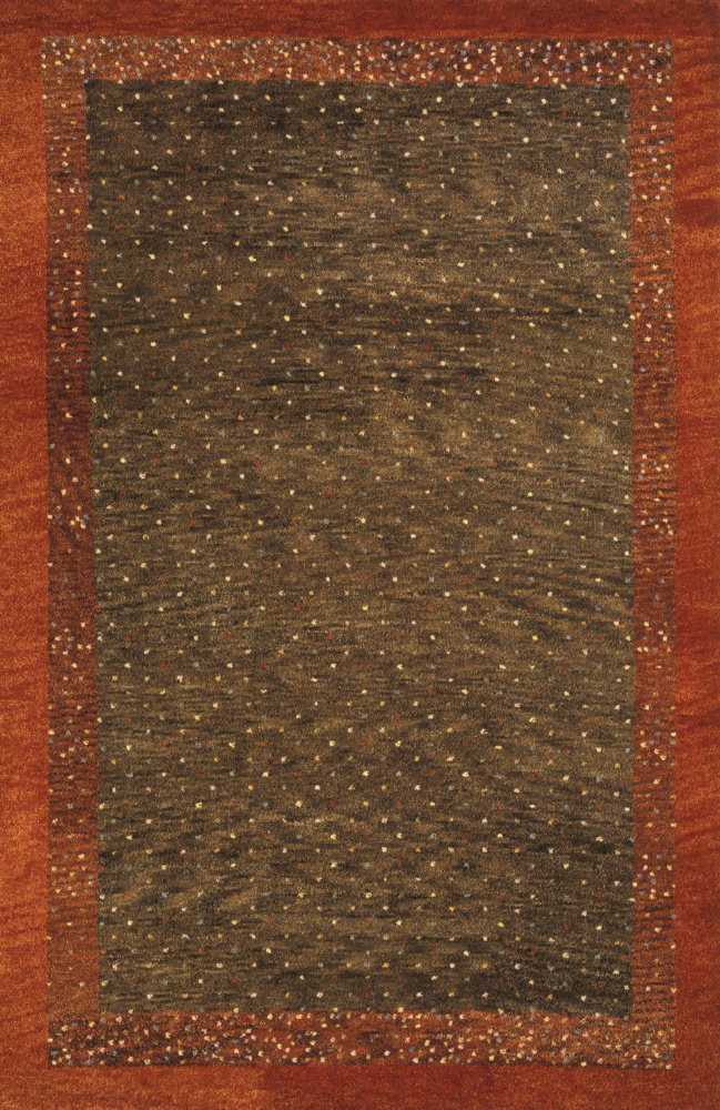 Momeni Desert Gabbeh Dg-01 Brown Area Rug| Size| 2' x 3' with Free Pad - 161152x1