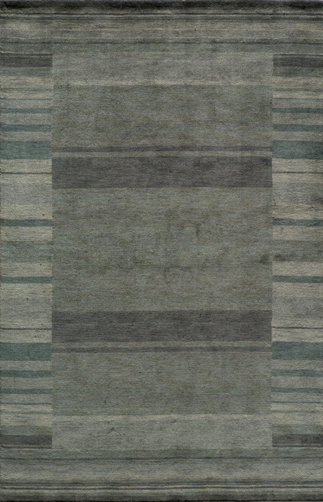 Momeni Gramercy Gm-15 Blue Area Rug| Size| 2' x 3' with Free Pad - 161240x1