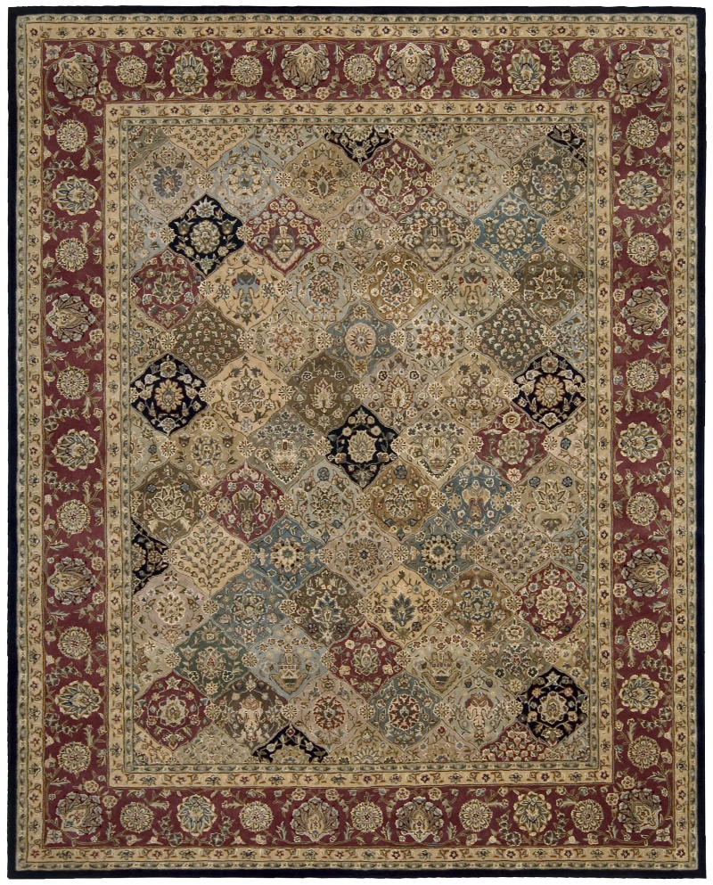 Nourison 2000 2101 Multi Area Rug| Size| 2' x 3' with Free Pad - 136829x1