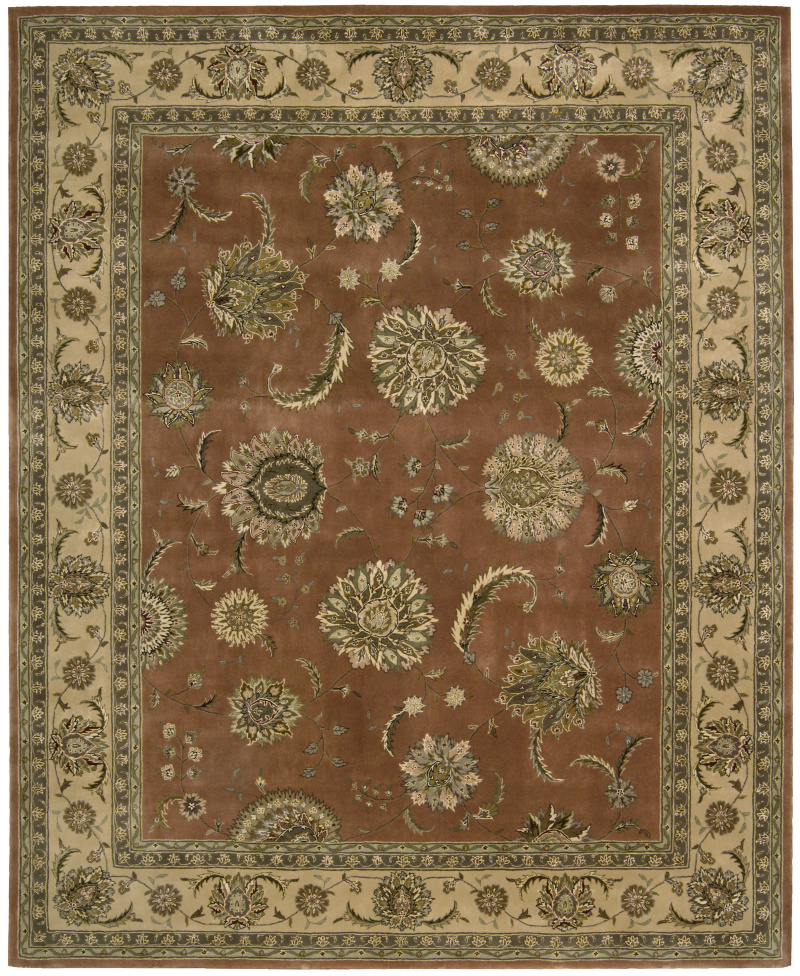 Nourison 2000 2227 Persimmon Area Rug| Size| 2' x 3' with Free Pad - 29221x1
