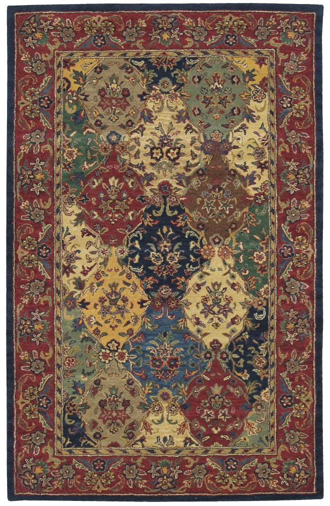 Nourison India House IH-23 Multi Area Rug| Size| 2' 6'' X 4' - 23147x1