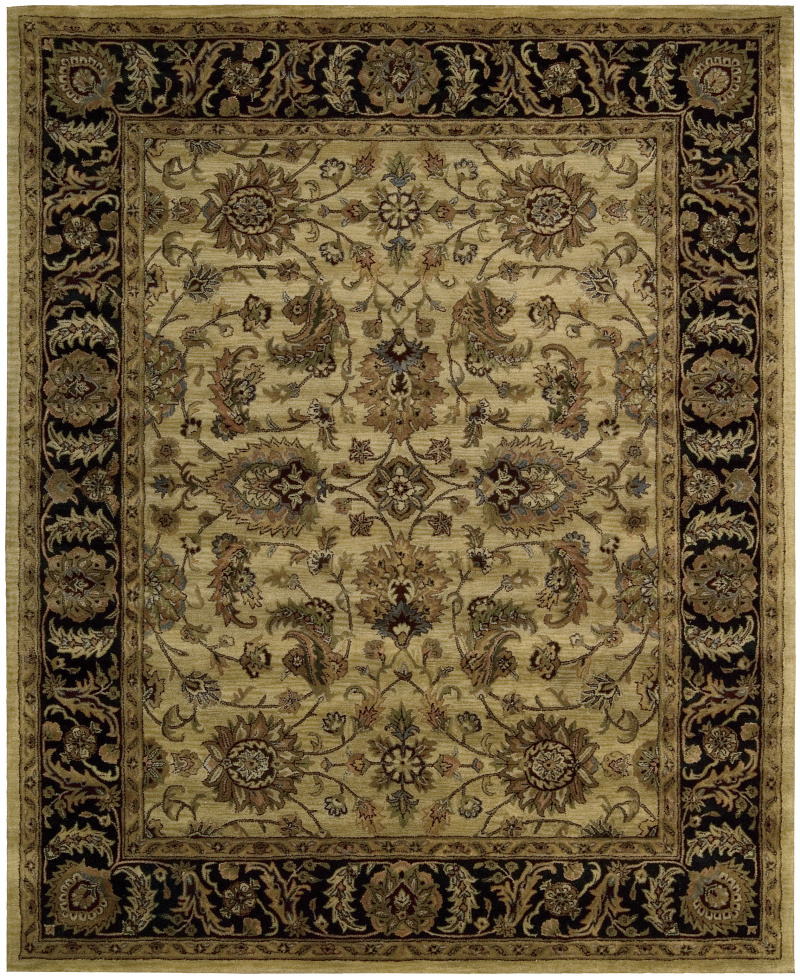 Nourison Jaipur JA-22 Light Gold Area Rug| Size| 2' 4'' X 8' Runner with Free Pad - 23184x1