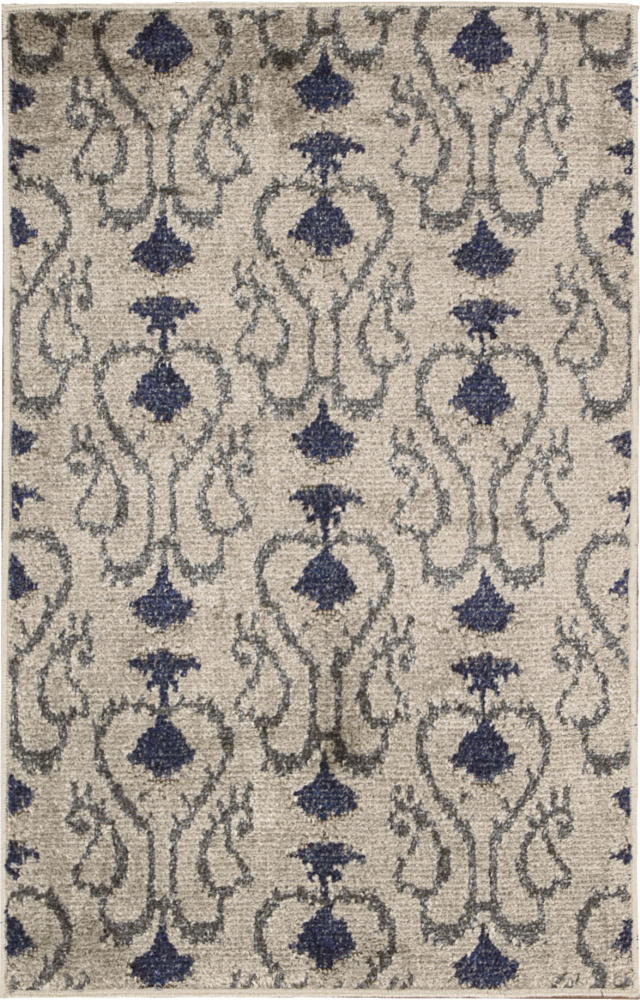 Nourison Kindred Kin02 Silver Area Rug Clearance| Size| 7'9'' x 10' - 85789x3