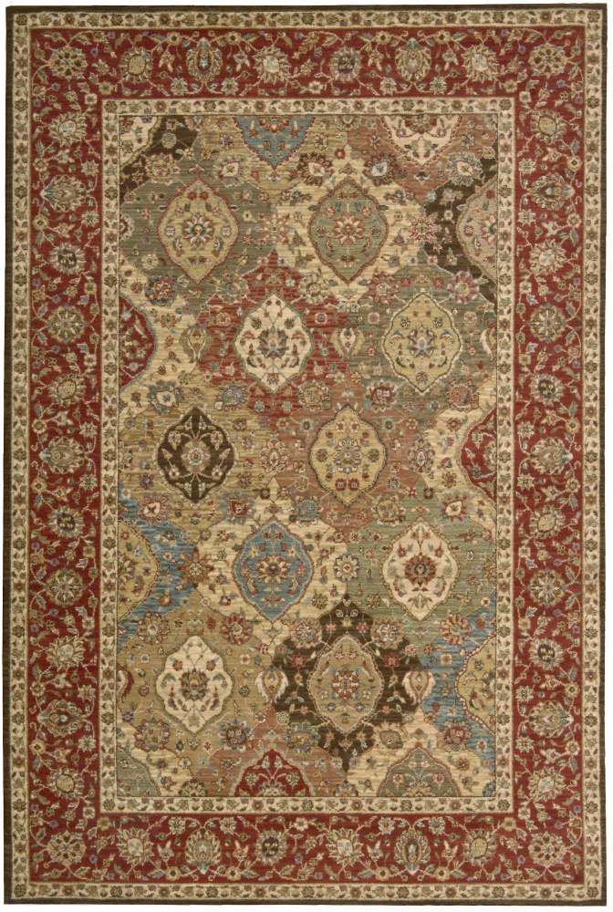 Nourison Living Treasures LI-03 Multi Area Rug| Size| 5'10'' x 5'10'' Round - 23232x9