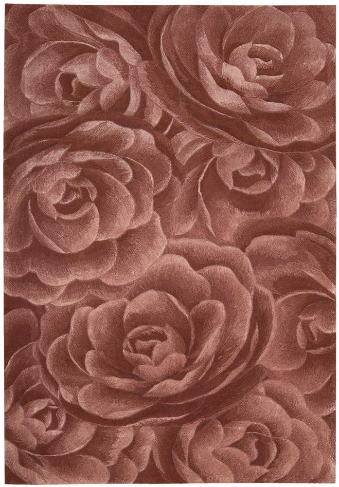 Nourison Moda MOD-06 Blush Area Rug| Size| 2'3''x8' Runner with Free Pad - 71970x1