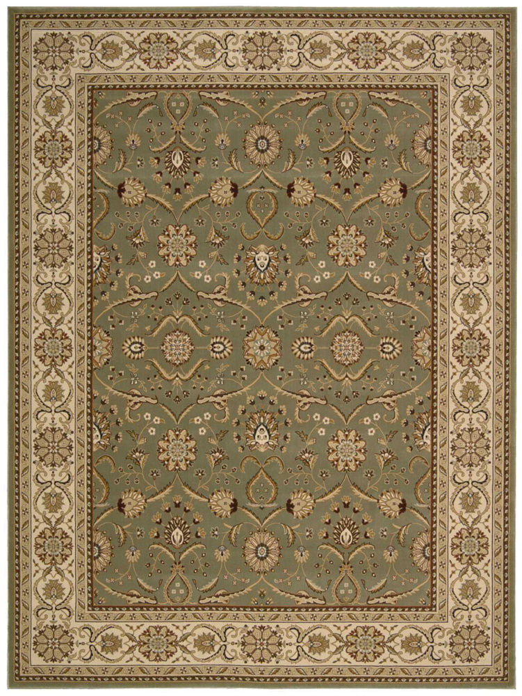 Nourison Persian Crown Pc001 Green Area Rug| Size| 1'11'' x 2'11'' - 95672x1
