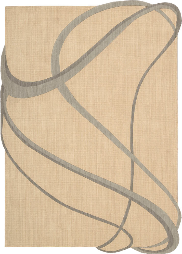 Nourison Silhouettes SIL-03 Beige Area Rug Clearance| Size| 7' 9'' X 7' 9'' Square - 32666x4