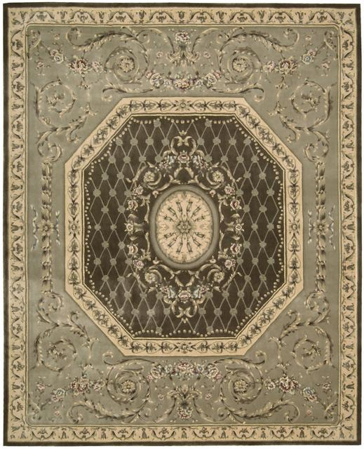 Nourison Chateau Provence SB-03 Khaki Area Rug Clearance| Size| 2' 3'' X 8' Runner - 22959x1