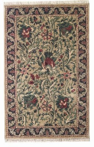 ORG Handtufted Thistle Beige-Charcoal Area Rug Last Chance - 136967
