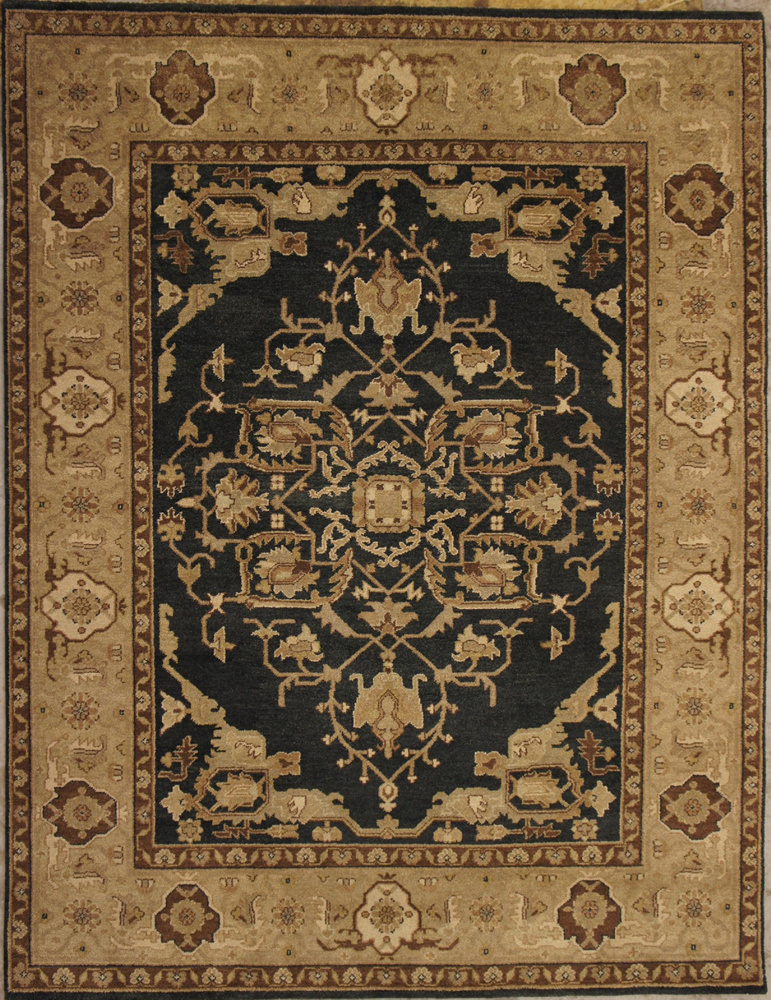 ORG Elements Serapi Charcoal Area Rug Last Chance| Size| 2' 8'' X 8' Runner - 2233