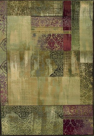 Oriental Weavers Generations 1527x Multi Area Rug| Size| 18'' Returnable Sample Swatch - 137017x1