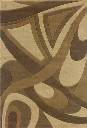 Oriental Weavers Tones 501x1 Multi Area Rug| Size| 2'3'' X 7'9'' Runner with Free Pad - 14035x1