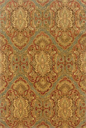 Oriental Weavers Huntley 19101 Green Area Rug| Size| 3' 6'' X 5' 6'' with Free Pad - 43147x1