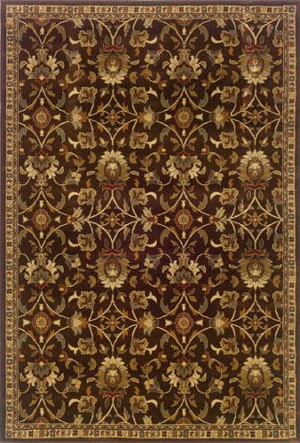 Oriental Weavers Amelia 2331K Area Rug| Size| 2' 6'' X 7' 9'' Runner with Free Pad - 32474x1