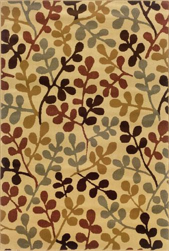Oriental Weavers Amelia 8126W Area Rug| Size| 2' 6'' X 7' 9'' Runner with Free Pad - 32481x1