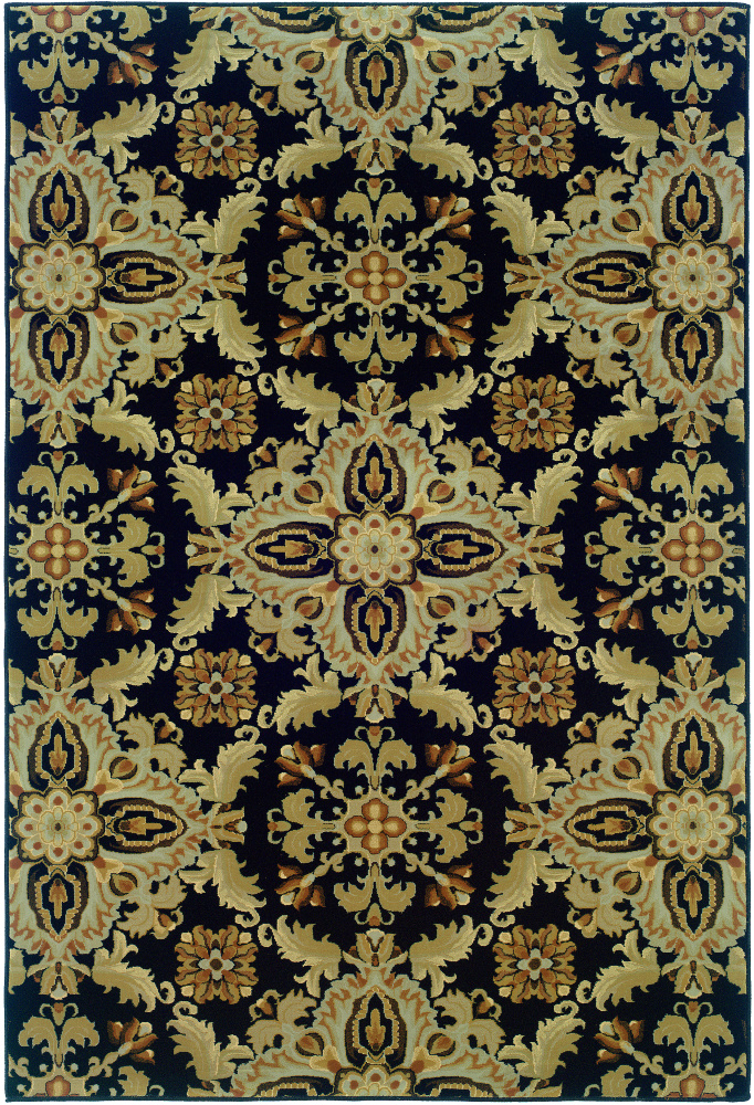 Oriental Weavers Ariana 2313b Area Rug| Size| 18'' Returnable Sample Swatch - 58074x9
