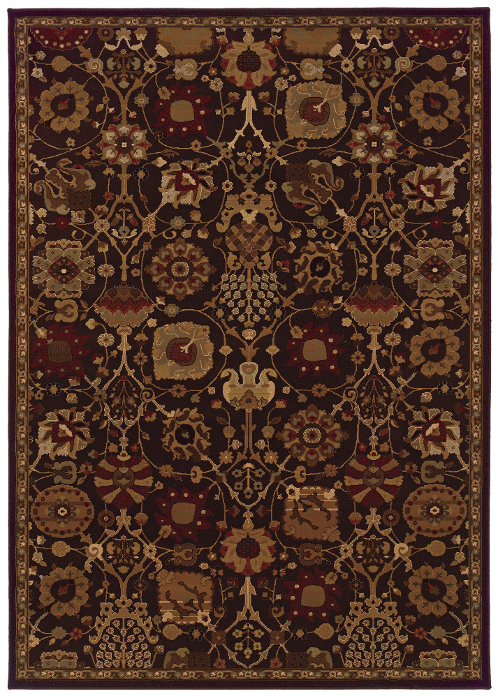 Oriental Weavers Cambridge 4520N Area Rug| Size| 1'10'' X 3'3'' with Free Pad - 74700x7