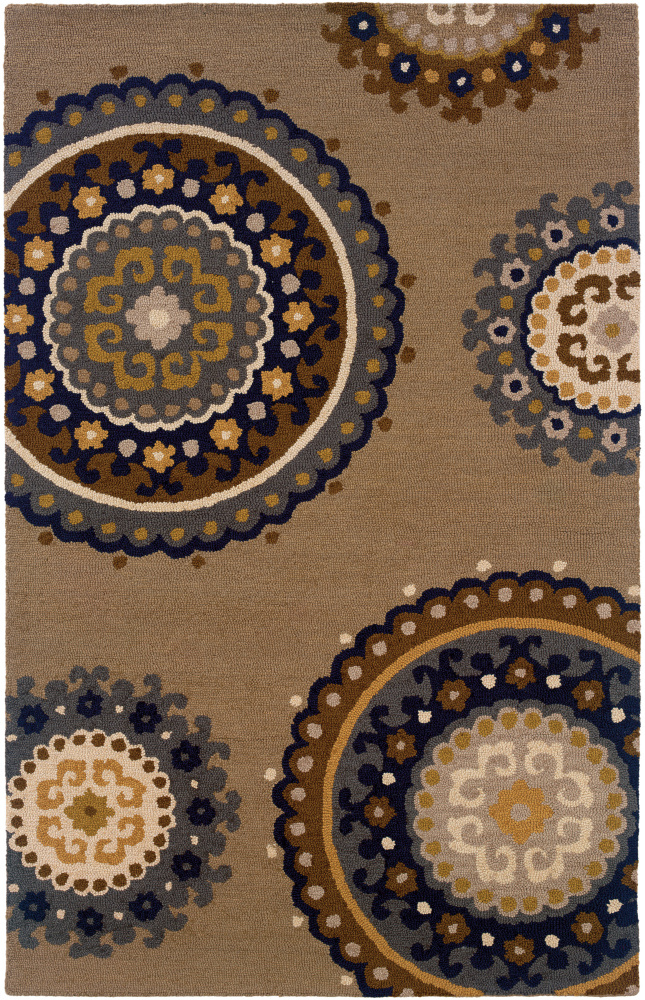 Oriental Weavers Eden 87105 Area Rug| Size| 2'6X8' Runner with Free Pad - 69699x1