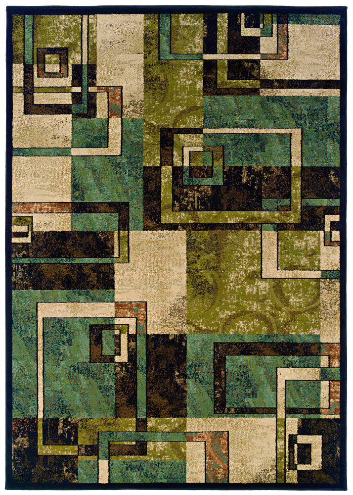 Oriental Weavers Emerson 2817a Area Rug| Size| 1'10'' X 3'3'' with Free Pad - 58089x1
