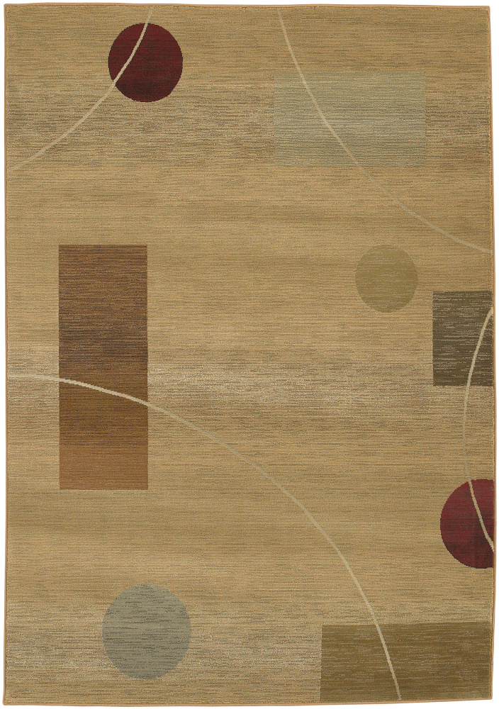 Oriental Weavers Generations 1504g Multi Area Rug| Size| 2' X 3' with Free Pad - 136850x1