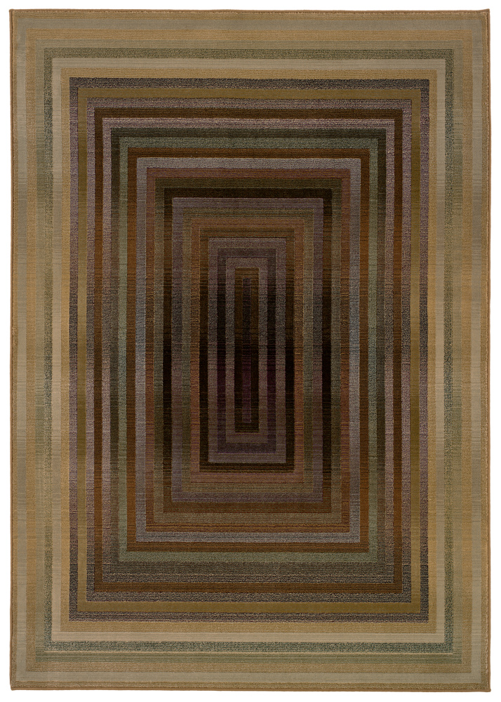Oriental Weavers Generations 281J2 Multi Area Rug| Size| 2' X 3' with Free Pad - 136852x1