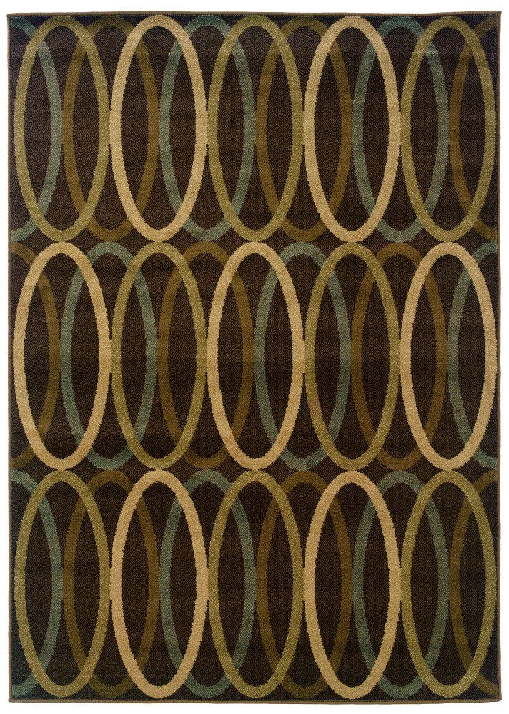 Oriental Weavers Hansen 1616d Area Rug| Size| 1'10'' X 7'6'' Runner with Free Pad - 58160x2