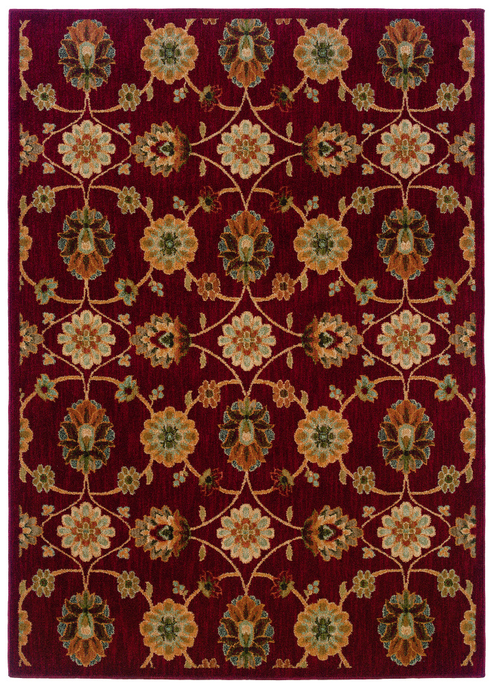 Oriental Weavers Infinity 2166b Area Rug| Size| 1'11'' X 3'3'' with Free Pad - 58187x1