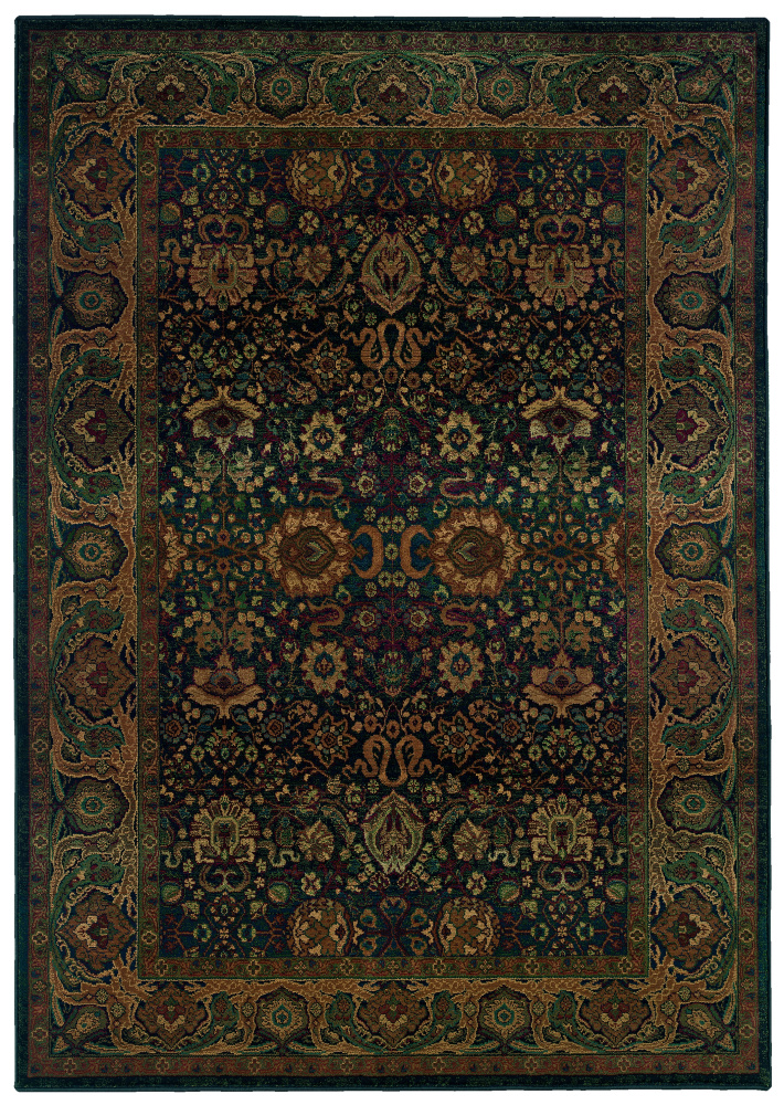 Oriental Weavers Kharma 332X4 Area Rug| Size| 2' 3'' X 7' 6'' Runner with Free Pad - 20873x3
