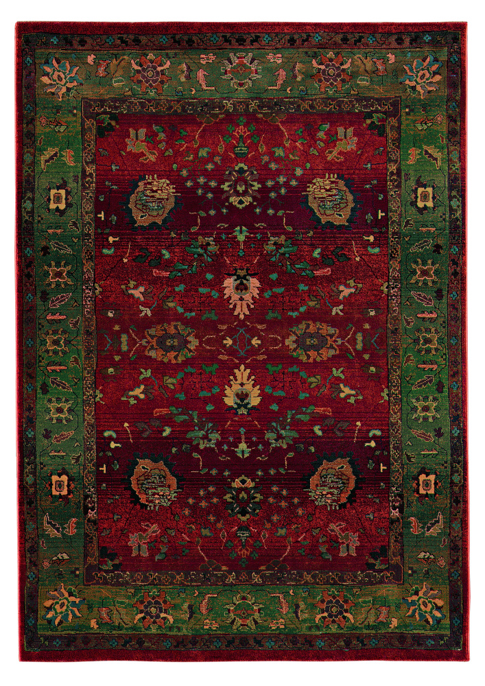 Oriental Weavers Kharma 807C4 Area Rug| Size| 2' 3'' X 7' 6'' Runner with Free Pad - 215x2