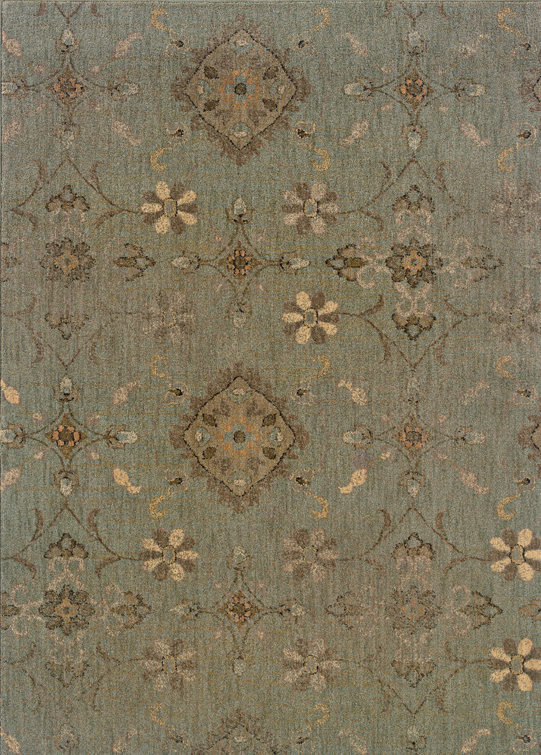 Oriental Weavers Milano 2947d Area Rug| Size| 1' 11'' X 3' 3'' with Free Pad - 64847x1