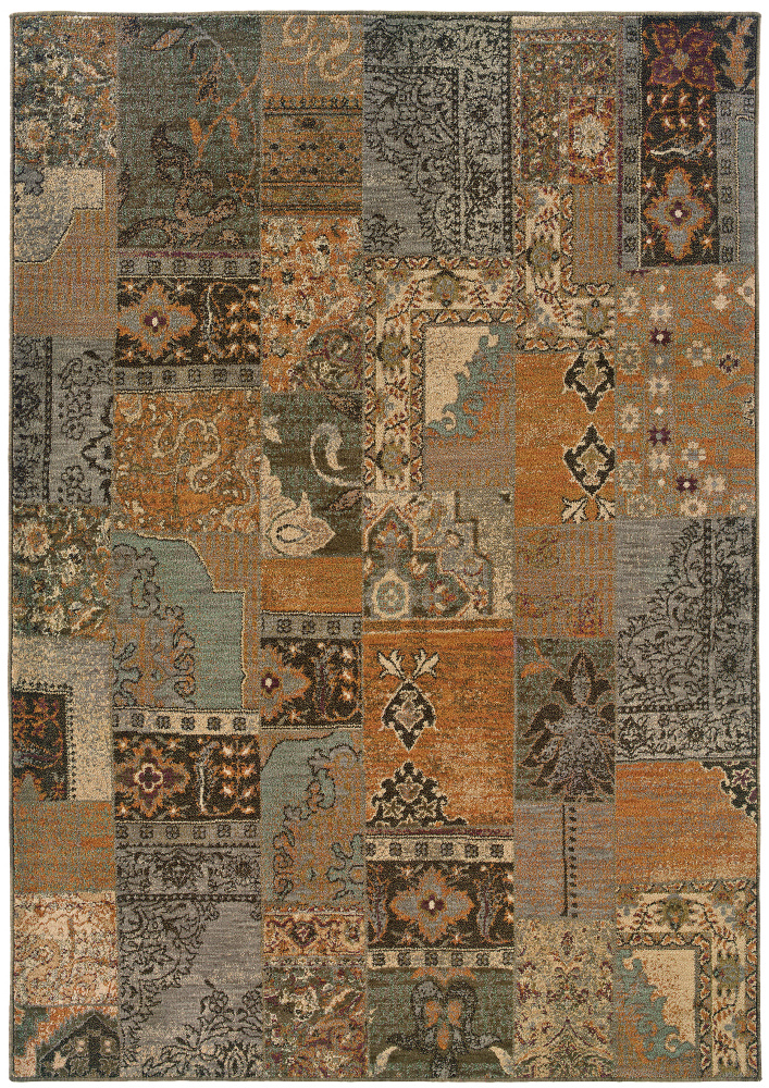 Oriental Weavers Salerno 2941a Area Rug| Size| 1' 11'' X 3' 3'' with Free Pad - 64880x1