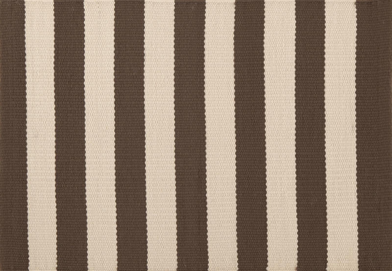Pine Cone Hill Placemat Trimaran Stripe Charcoal-Ivory| Size| Set of 4 - 67465x1