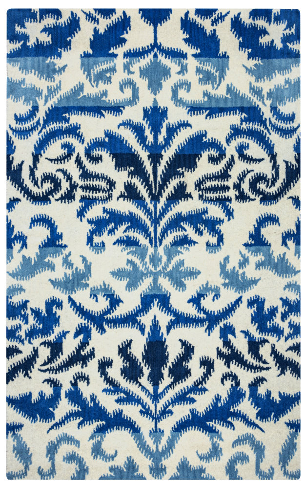 Rizzy Volare Vo-2584 Ivory Area Rug| Size| 2'6'' x 8' Runner - 163894x7