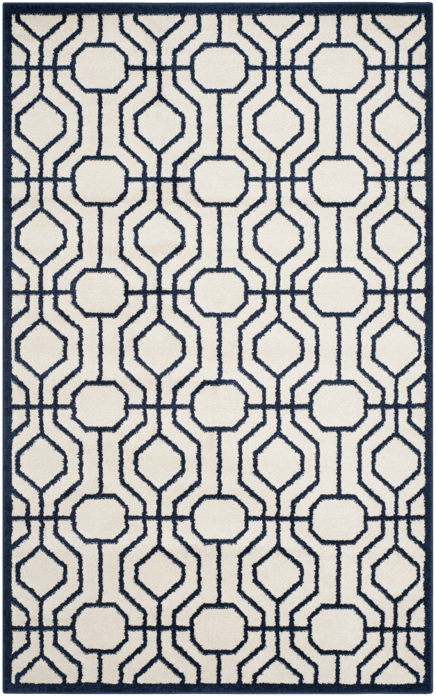 Safavieh Amherst Amt416m Ivory - Navy Area Rug| Size| 2' 6'' X 4' - 107864x1