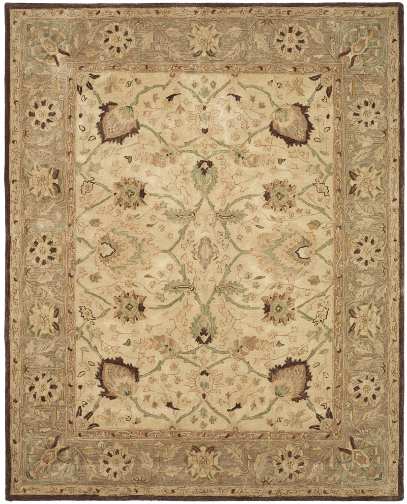 Safavieh Anatolia AN512D Ivory - Brown Area Rug| Size| 3' X 5' - 80342x5