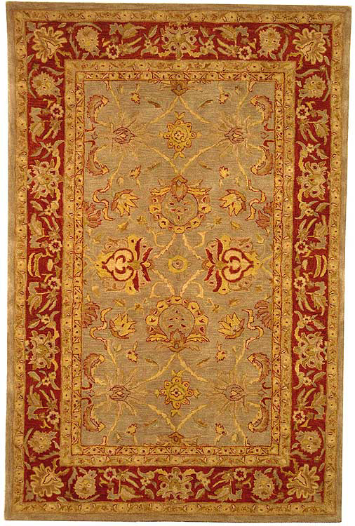 Safavieh Anatolia AN529A Grey - Red Area Rug Clearance| Size| 4' X 6' - 49592X8