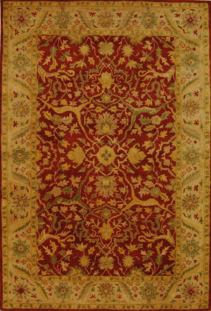 Safavieh Antiquities AT14C Rust Area Rug Clearance| Size| 3' 6'' X 3' 6'' Round - 49617X6