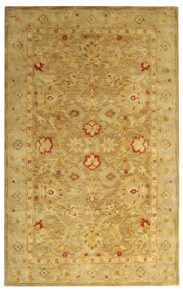 Safavieh Antiquities AT822B Brown - Beige Area Rug Clearance| Size| 2' X 3' - 49650X2