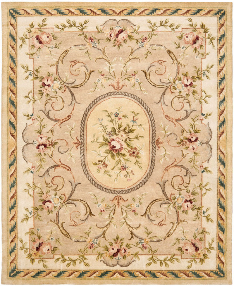 Safavieh Bergama BRG158A Beige - Ivory Area Rug| Size| 2'3''X12' Runner - 46315X7