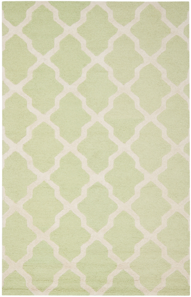 Safavieh Cambridge CAM121B Light Green - Ivory Area Rug| Size| 2' X 3' - 80381x1