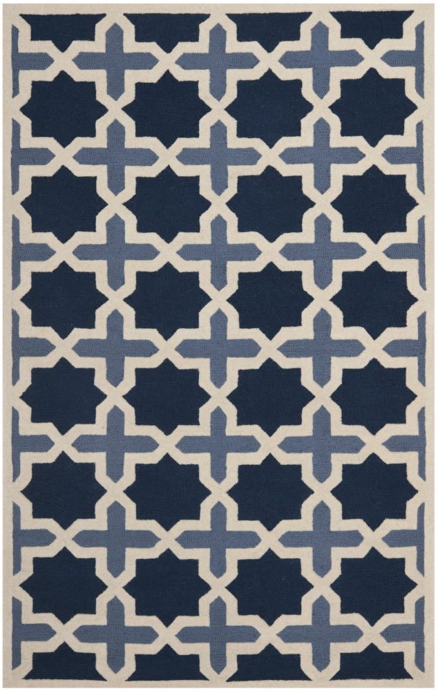 Safavieh Cambridge CAM127A Light Blue - Ivory Area Rug| Size| 2' X 3' - 80397x1