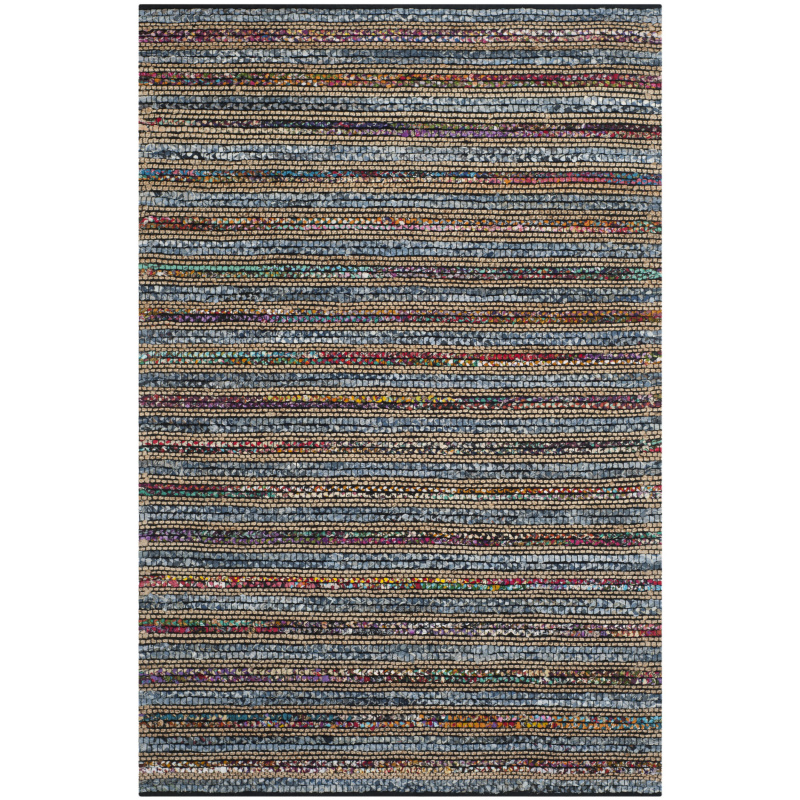 Safavieh Cape Cod Cap361a Blue - Multi Area Rug| Size| 6' X 6' Square - 107875x10