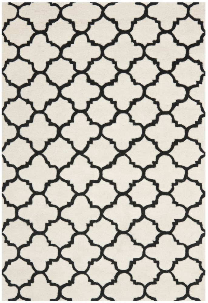 Safavieh Chatham Cht717a Ivory - Black Area Rug| Size| 2'3''X7' Runner - 94165x4
