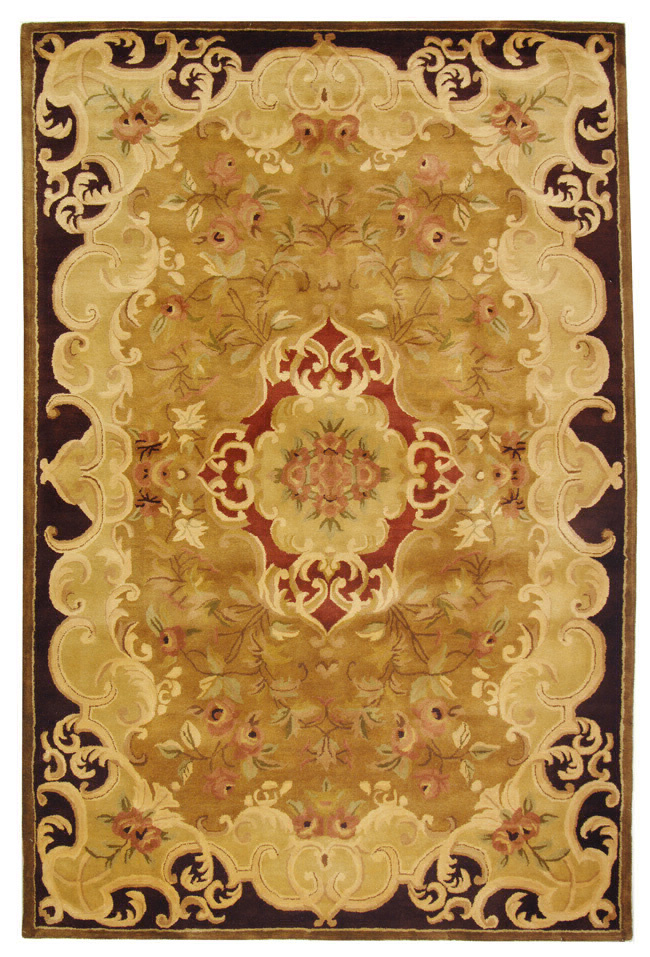 Safavieh Classic CL234B Gold - Cola Area Rug Clearance| Size| 2' X 3' - 49683X2