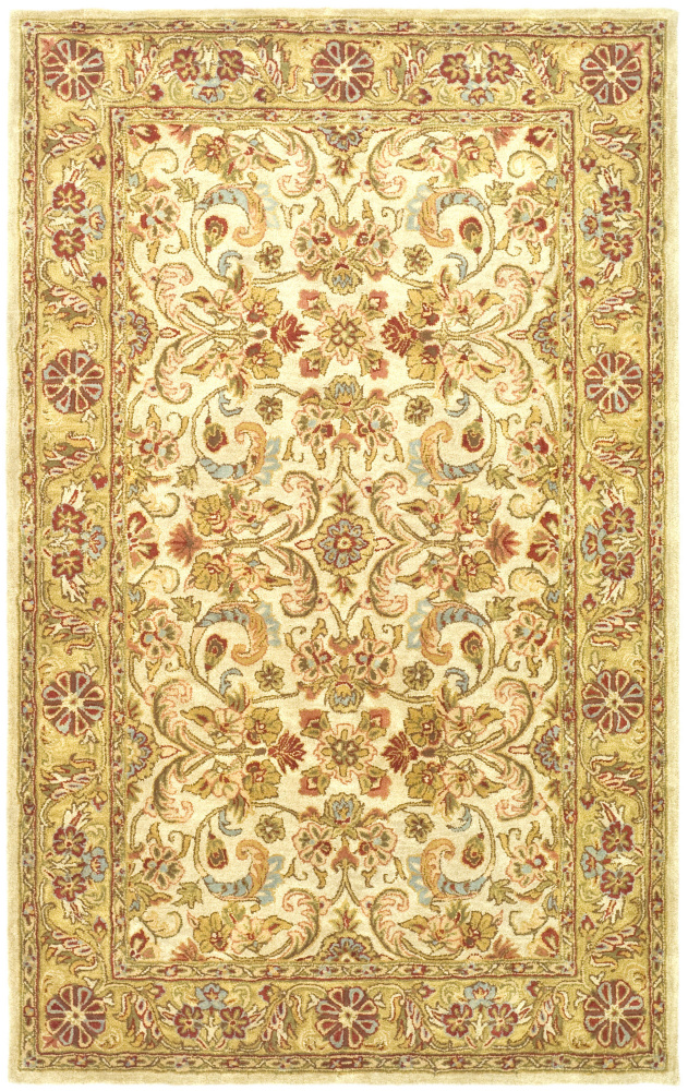 Safavieh Classic Cl324b Grey - Light Gold Area Rug| Size| 3' X 5' - 61208x8