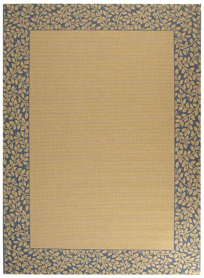 Safavieh Courtyard Cy0727-3101 Natural - Blue Area Rug| Size| 2' X 3' 7'' - 98633x1