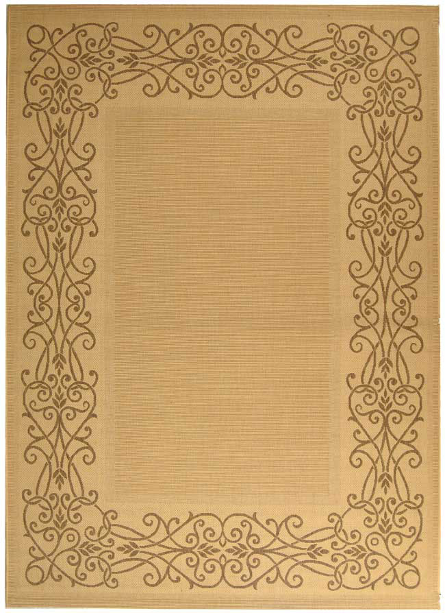 Safavieh Courtyard Cy1588-3001 Natural - Brown Area Rug| Size| 2' X 3' 7'' - 98678x1