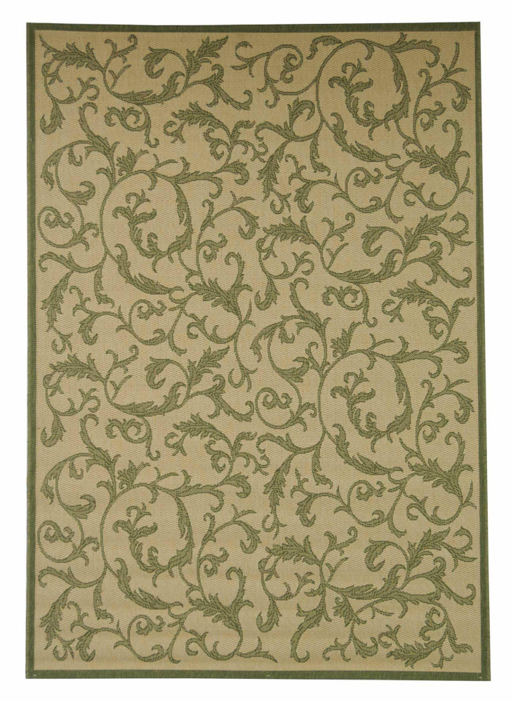 Safavieh Courtyard Cy2653-1e01 Natural - Olive Area Rug| Size| 2'2'' X 10' Runner - 98734x2