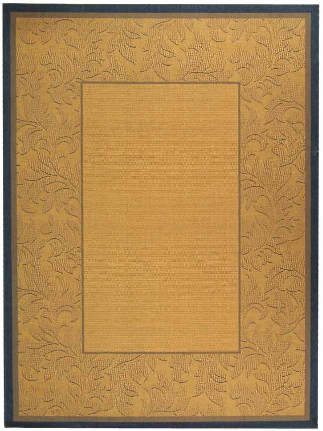 Safavieh Courtyard Cy2666-3101 Natural - Blue Area Rug| Size| 2' X 3' 7'' - 98760x1