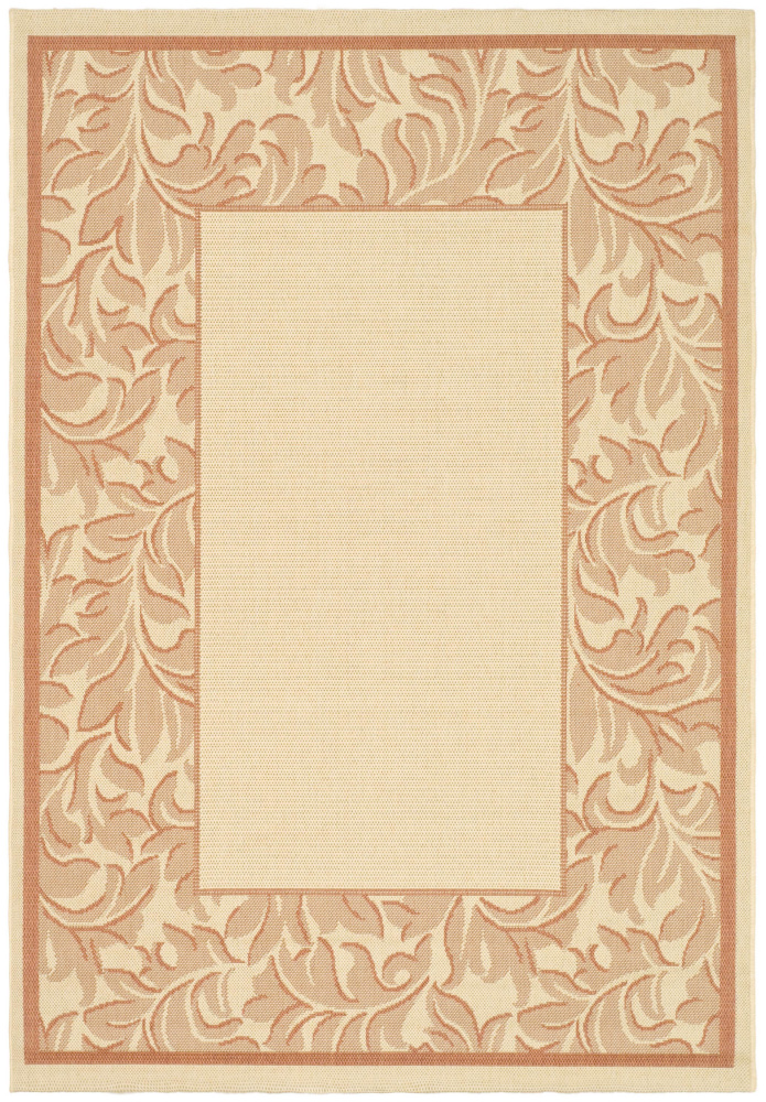 Safavieh Courtyard Cy2666-3201 Terracotta - Natural Area Rug| Size| 2' X 3' 7'' - 98761x1